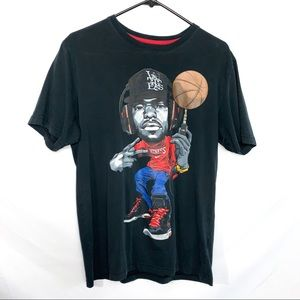 Nike dri-fit Lebron witness character graphic SZ M